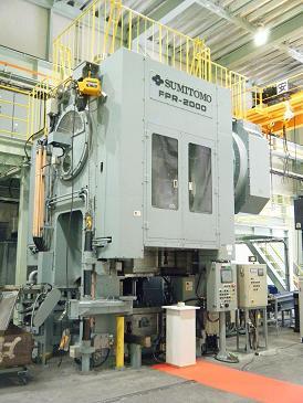 お知らせ 2010年度お知らせ新型鍛造プレス 1号機を納入
