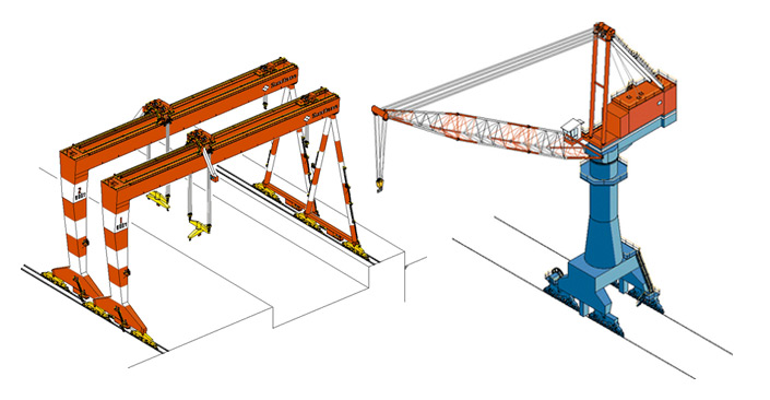 Material Handling Crane Forward Repair System : Sumitomo heavy industries material handling systems co