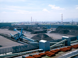 Stock Yard Equipment Material Handled : Ore/Coal