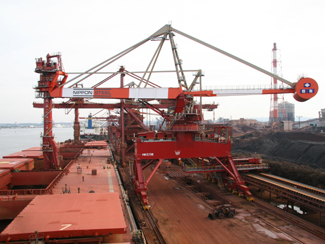 Bucket Elevator Type Material Handled : Iron ore, coal